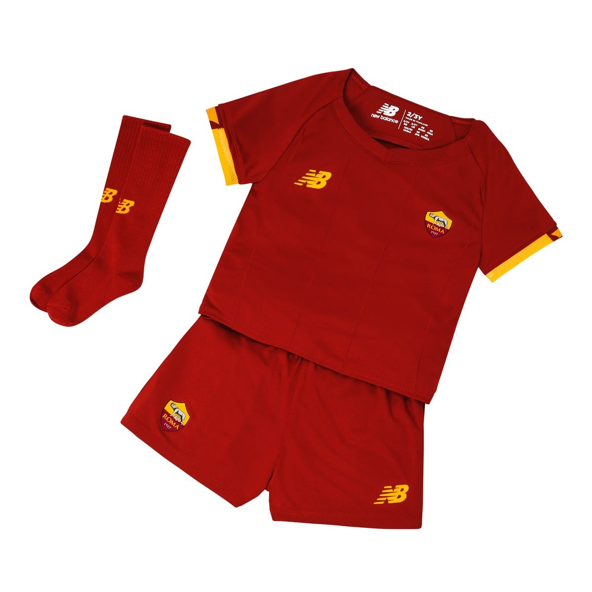 Kit Home Baby T-Shirt, Short and Socks 18months-7Years, 2021/22 w/t free Face Mask
