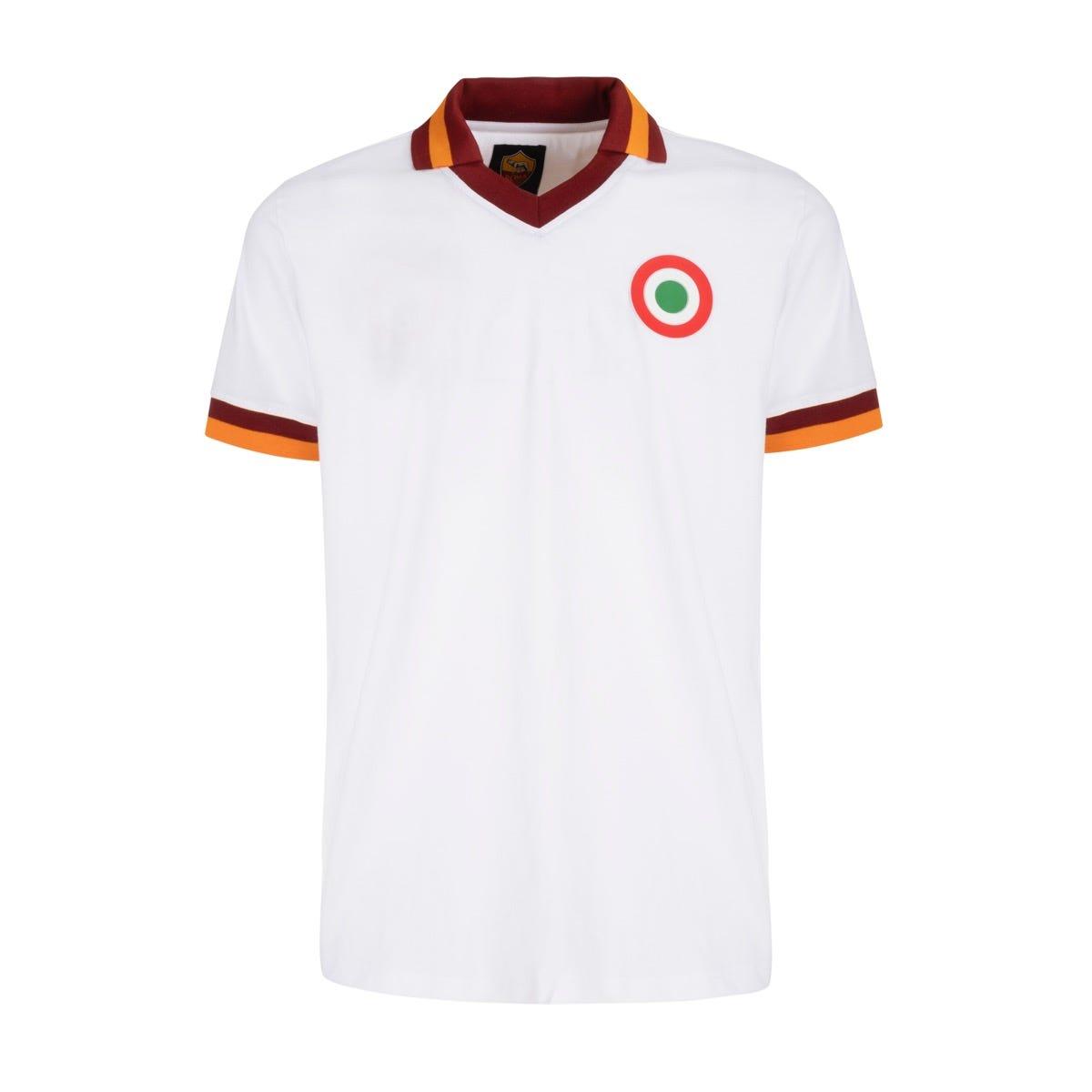 Men's AS ROMA Retro 1980/81 short-sleeved jersey – white