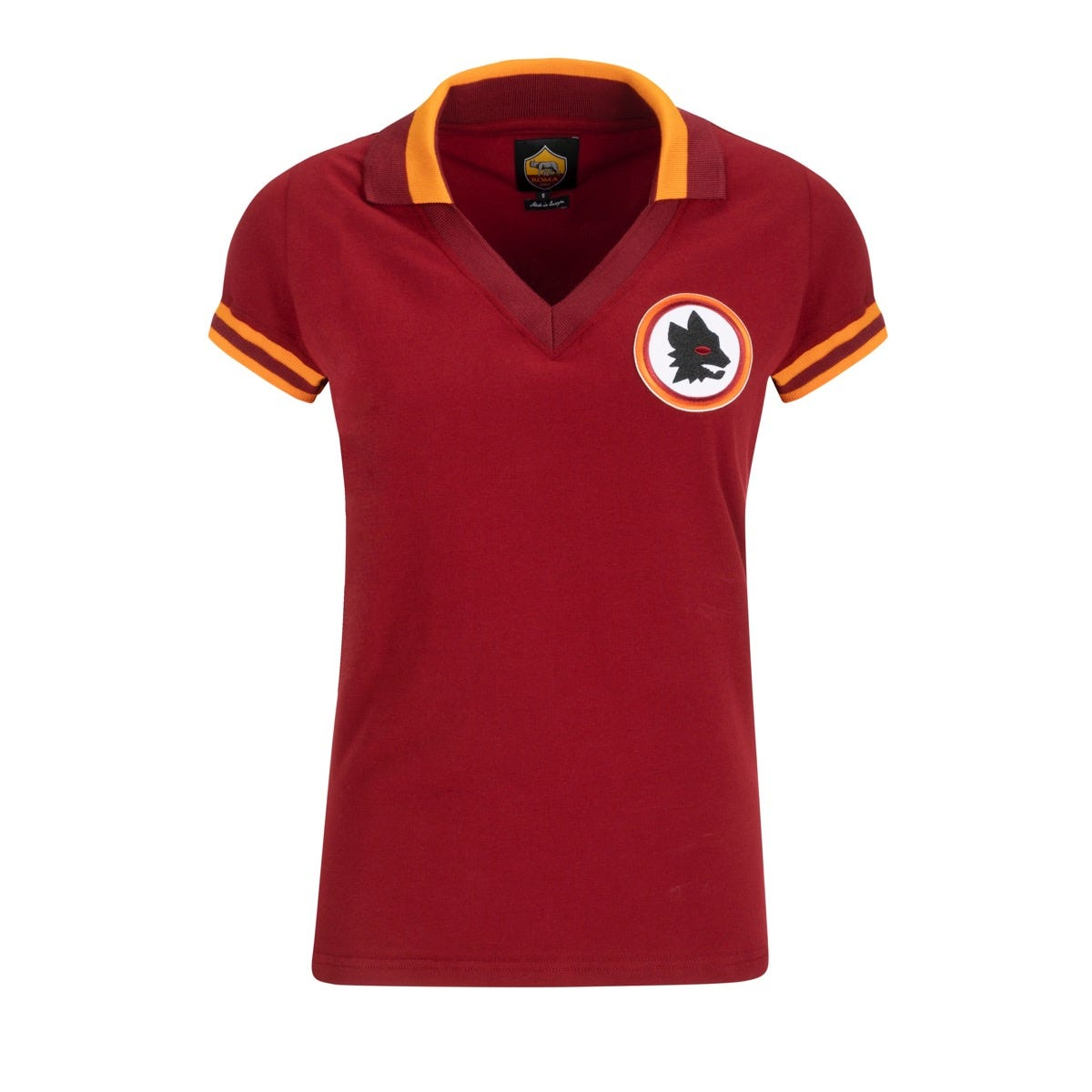 Women's AS ROMA Retro 1978/79 short-sleeved jersey – red